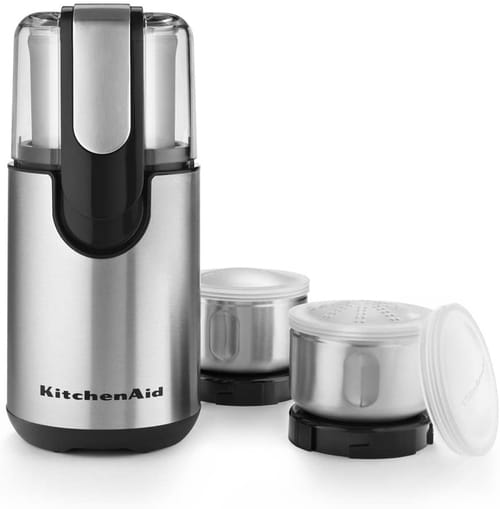 KitchenAid BCG211OB Blade Coffee and Spice Grinder Combo