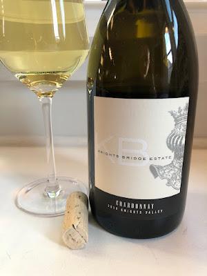 2018 Knights Bridge Estate Chardonnay Label