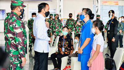 Presiden Silaturahmi dengan Keluarga Patriot KRI Nanggala 402