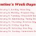 Valentine's day 2022: Rose Day, Kiss Day, Hug Day, Valentine's Day, Anti-Valentine days and what they mean
