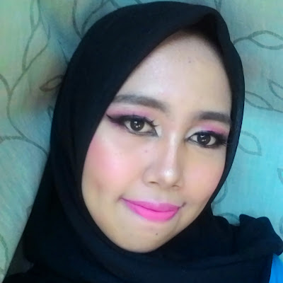 makeup barbie for hijab ,  barbie makeup , http://www.irabintiazhari.com/2018/03/barbie-makeup-collaboration-with.html