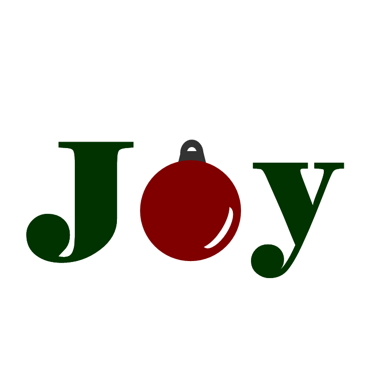 Free Clipart N Images: Holiday Word Art ~ Joy