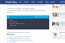 Cara Membuat Tempat Script Responsive di Blogger