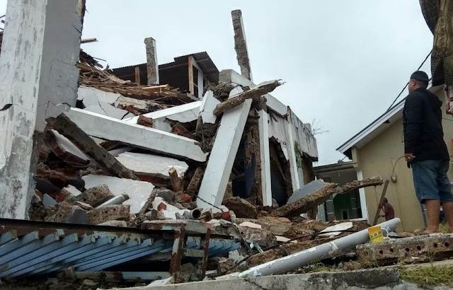 Akibat Gempa Bumi di Sukabumi, Tiga Warga Dilaporkan Luka Ringan