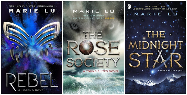 Marie Lu Rebel The Young Elites The Rose Society The Midnight Star
