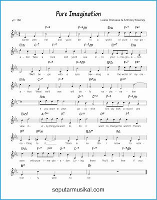 pure imagination lagu jazz standar