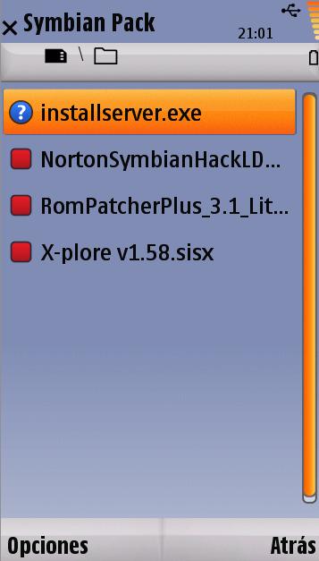 invenio carmen para symbian