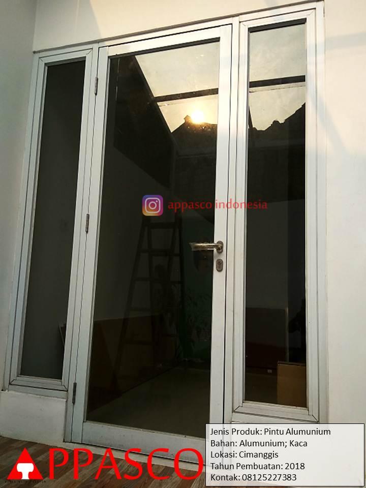 Pintu Aluminium dan Kaca di Cimanggis