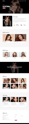Makeup Artist Website Design By AJagency