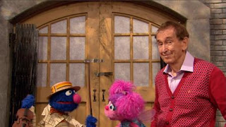 Grover, Bob, Abby Cadabby. Grover comes and introduces himself as a Music Monster. Sesame Street Episode 4326 Great Vibrations season 43