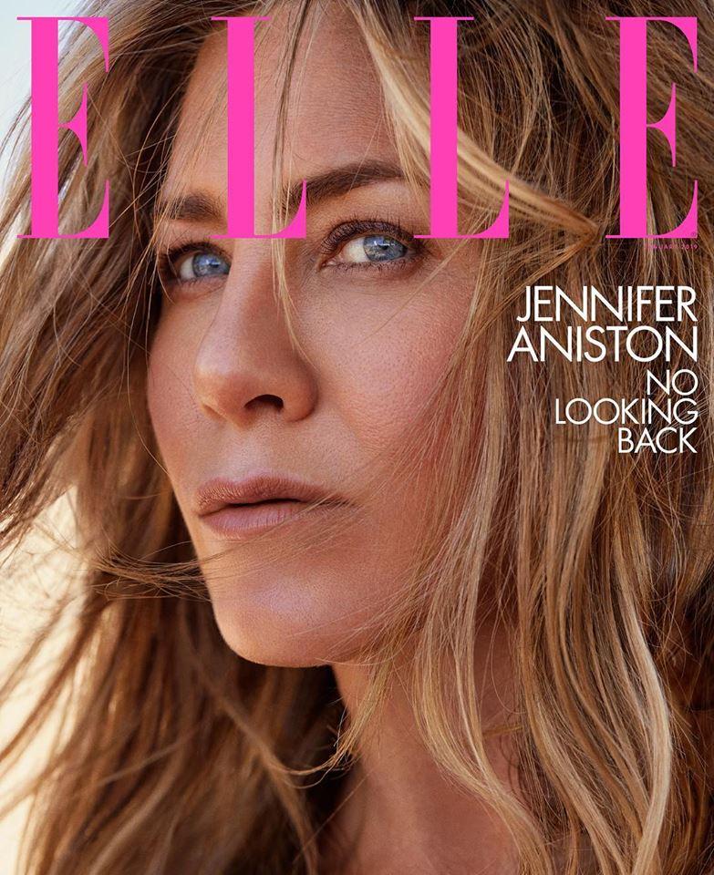 Jennifer Aniston for Elle US January 2019