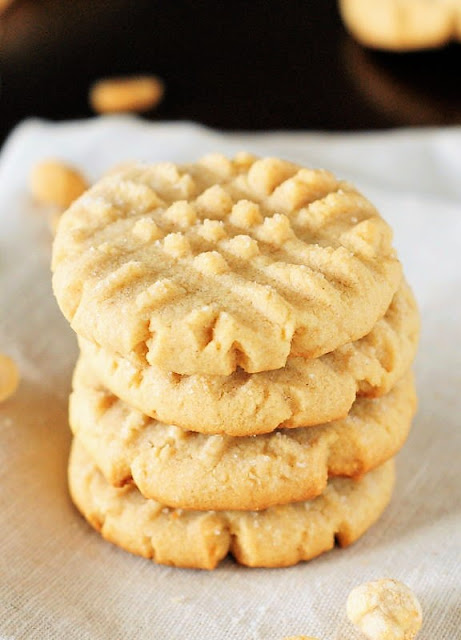 17+ Peanut Butter Sweet Treat Recipes - Old-Fashioned Peanut Butter Cookies Image