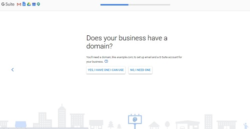 G suite-domain name-set up gmail account with own domain