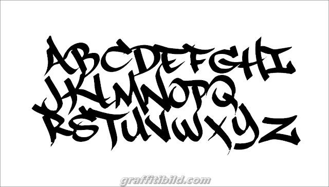 Graffiti tags abc, graffiti tags vector, fonts, alphabet