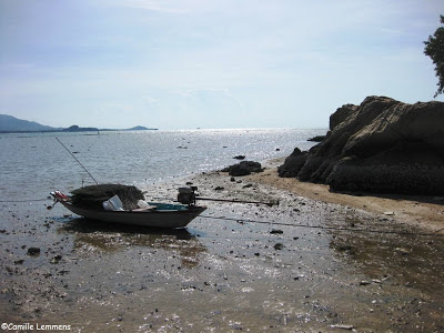 Low tide in Plai Laem