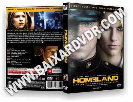 Homeland – 1ª Temporada Completa (2011) DVD-R OFICIAL