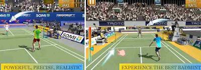 game bulu tangkis Badminton 3D - Super Creative
