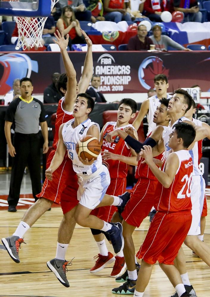 Por la segunda fecha del FIBA Américas U18 228de6d999d80