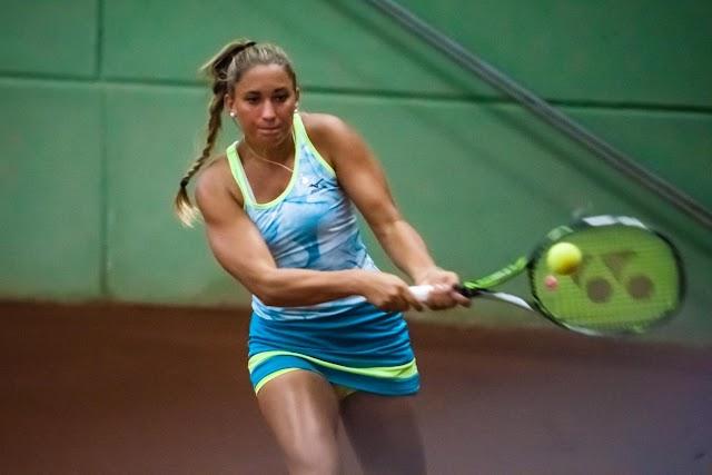 Újrakezdte a mérkőzéseket a fiatal magyar teniszező