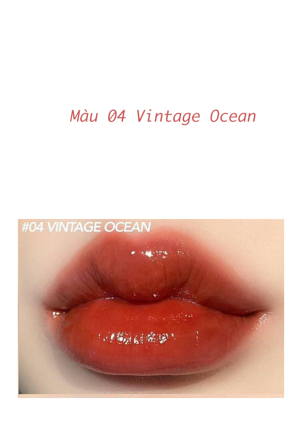 Màu A04 - Vintage Ocean: Đỏ gạch