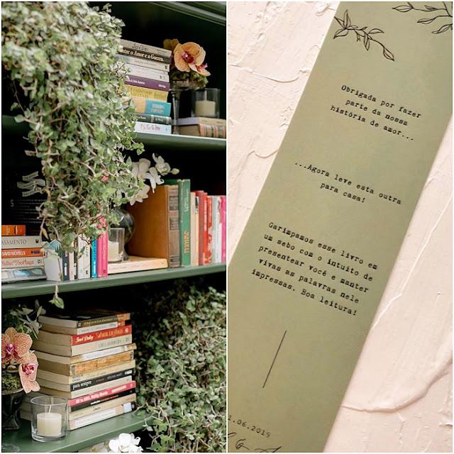 lembrancinhas livros casamento karol pinheiro