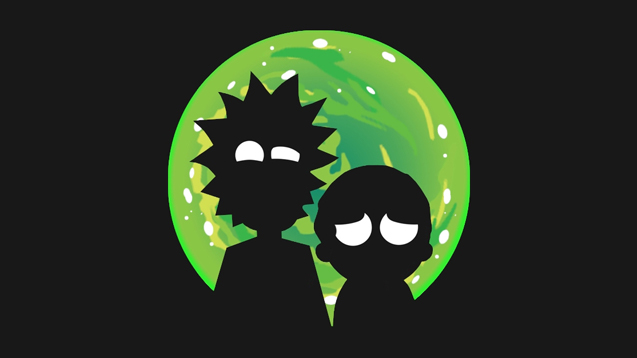 Rick & Morty Wallpaper Engine