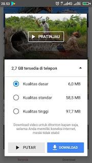 Youtube Go yakni aplikasi nonton veideo yang ramah kuota internet dan juga ramah penyimp 4 Kelebihan Youtube Go, Bisa Hemat Kuota Internet