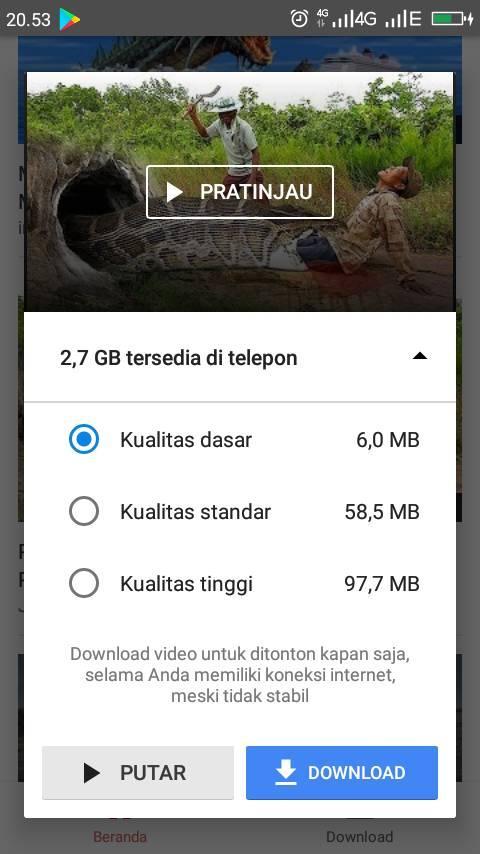 4 Kelebihan Youtube Go, Dapat Irit Kuota Internet