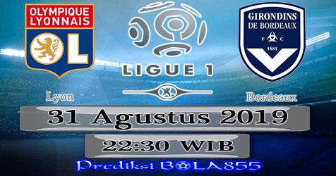 Prediksi Bola855 Lyon vs Bordeaux 31 Agustus 2019