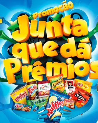 Promoção-Elma Chips, Torcida, Ruffles, Doritos, Cheetos, Fandangos, Toddy, Toddynho, Quaker
