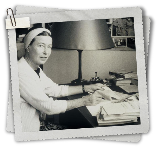 Simone de Beauvoir, FLE, le FLE en un 'clic'