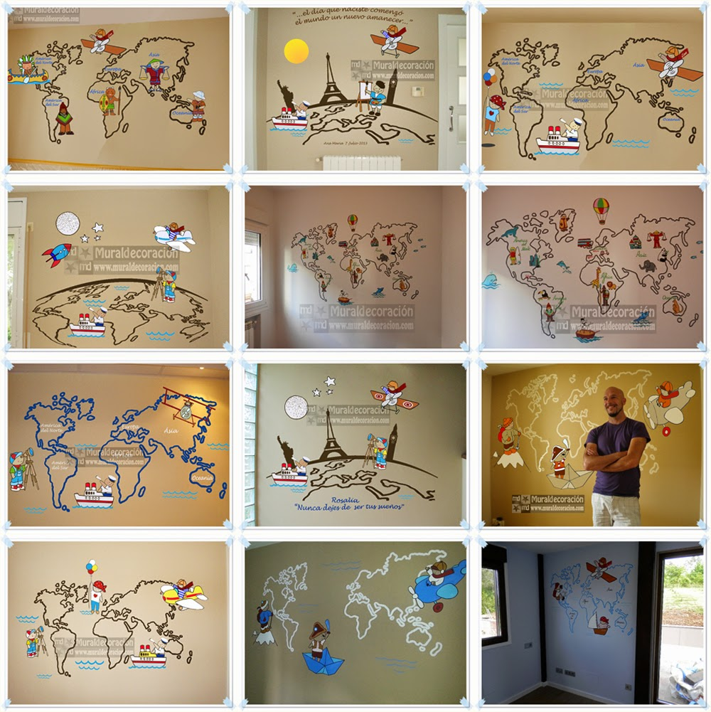 Murales infantiles for Como decorar un mural