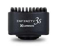 Lumenera Infinity 3S-1UR microscopy camera ultra-sensitive 1.4mp USB3 camera with CCD sensor.