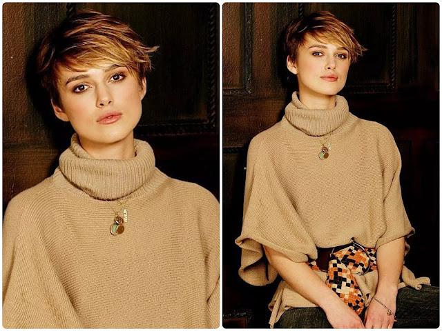 Keira Knightley Pixie Cut