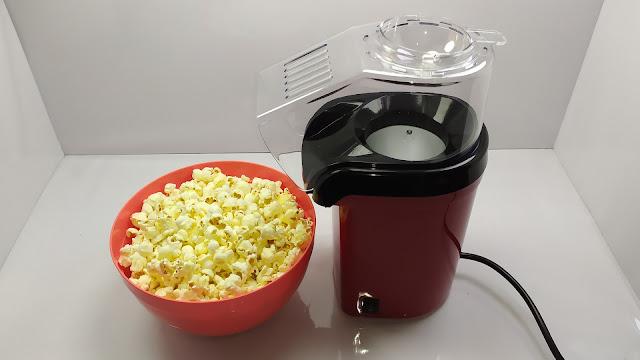 الة صنع الفشار المنزلية بدون زيت - ماكينة الفشار  Hot Air Oil-Free Popcorn Maker Machine