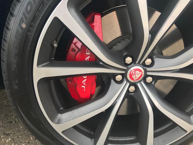 Brakes on 2020 Jaguar F-PACE SVR
