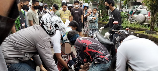 Evakuasi tim relawan gabungan