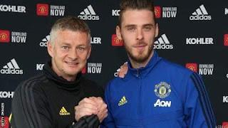 De Gea Signs New Man Utd Contract