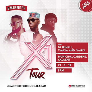 [EVENTS] Calabar Agog as Smirnoff X1 Tour arrives Friday March 29th