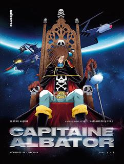Capitaine Albator, Mémoires de l'Arcadia tome 1 une bande dessinée des éditions Kana