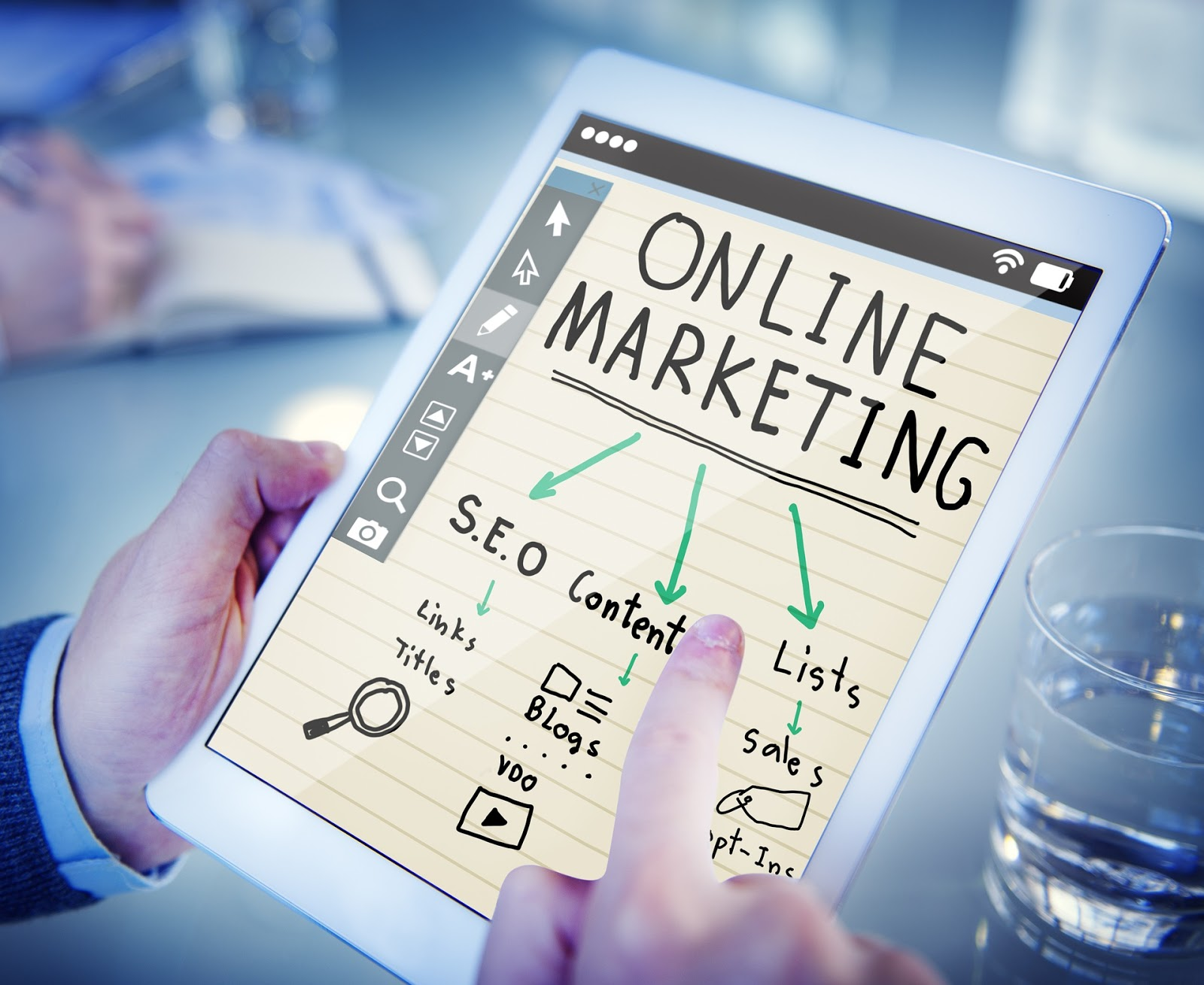 Online Marketing strategies for a small law firm