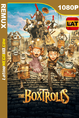 Los Boxtrolls (2014) Latino HD BDREMUX 1080P ()