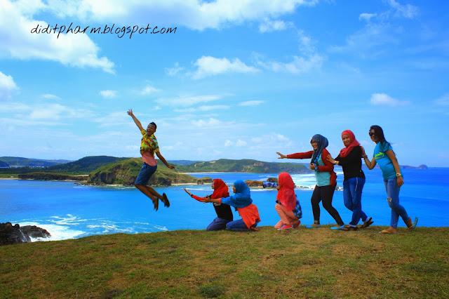 Indahnya Bukit Merese di Lombok Tengah