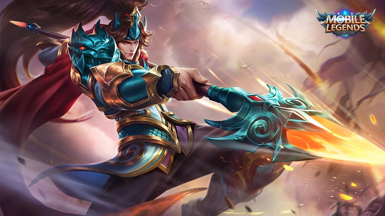Wallpaper Zilong Son of the Dragon Skin Mobile Legends Full HD for PC