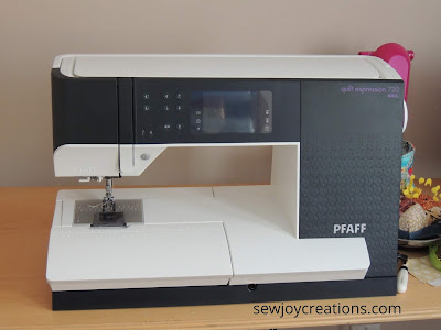 PFAFF sewing machine quilt expression 720