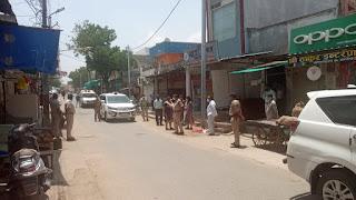 कलेक्टर एवं एसपी ने अलीराजपुर और आजाद नगर में मैदानी स्तर का लिया जायजा