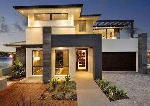Tingginya harga tanah menjadi salah satu faktor banyak orang memilih membangun rumah minimalis 2 lantai. Sebelum anda membangun, lihatlah dahulu 17 gambar-gambar berikut ini, dijamin menginspirasi anda.