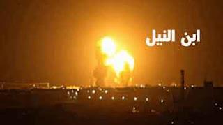 اطلاق صواريخ من ايران في قاعدة عين الاسد الجوية