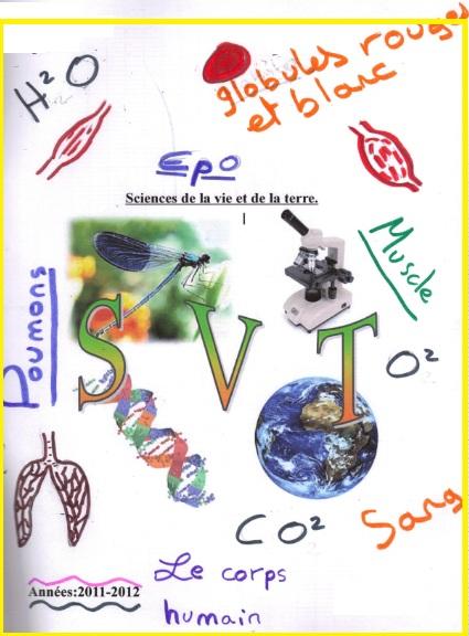 تحميعة تمارين وامتحانات جميع دروس SVT للسنة اولى اعدادي باللغة الفرنسية + مراجع مهمة للاساتدة