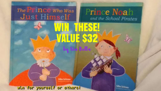 Prince Noah & The School Pirates {Win It}, learning disabilities, down syndrome, book review, giveaway, enter to win, kids books about disability, kids story about lvoe, plough publishing